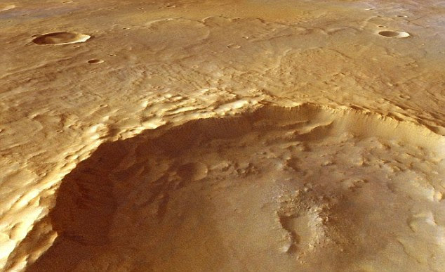 Scans by spectrometers on board the Mars Express and Mars Reconnaissance Orbiters have revealed 175 outcrops in Mars's Tyrrhena Terra mountains that are unmistakably 'weathered' by water