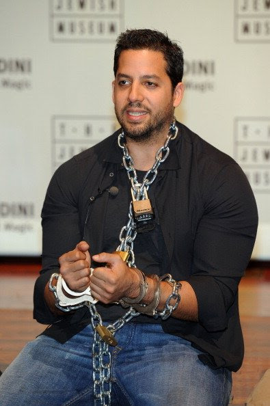 Illusionist David Blaine