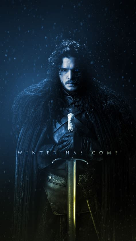 wallpaper game  thrones season  jon snow kit
