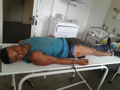 Caick estava escondindo na mata (Foto: Ubatã Notícias)