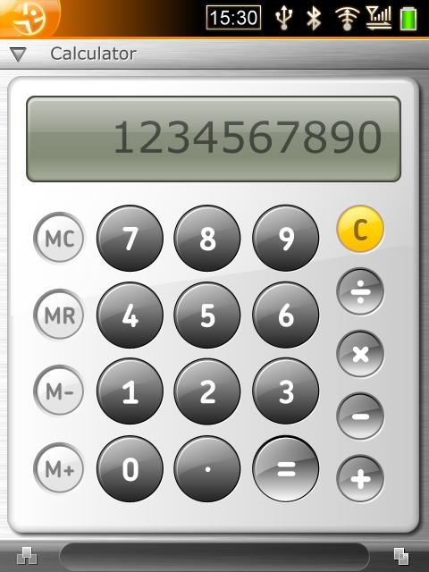 Openmoko calculadora