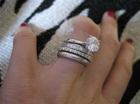 17 Best images about Multiple engagement/wedding rings on