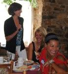 Susan Wenner, Rashada Nuñez, Rita Guthrie present at Morgans Restaurant Event
