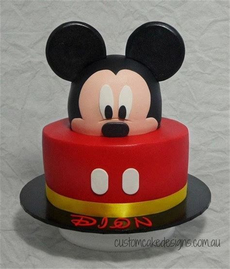 2 year old mickey mouse cake   Especialz