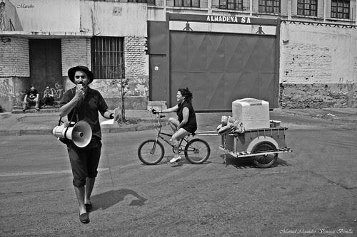 Santiago de Chile, Barrio ferroviario by Alejandro Bonilla