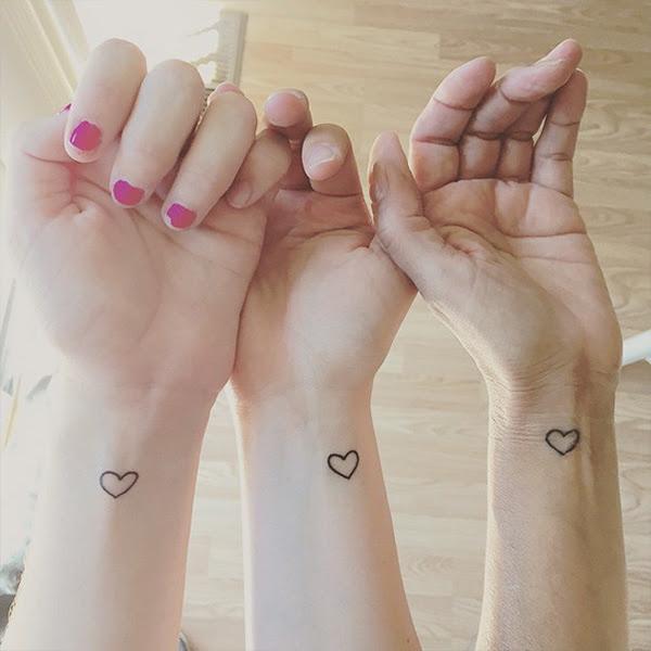 Tatuajes Femeninos Dobles O Para Grupos Cabroworld