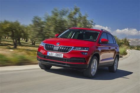 skoda karoq sportline top speed