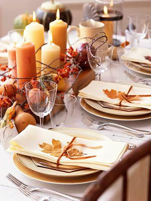 60 Stylish Table Settings for Thanksgiving - Tablescape Ideas and ...