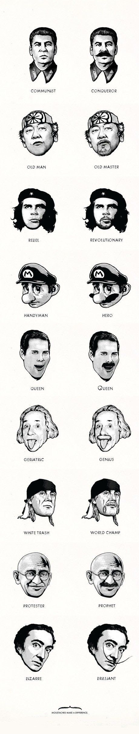 Better with a mustaches