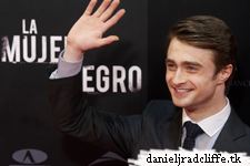 Updated: Daniel Radcliffe attended Madrid premiere of The Woman in Black