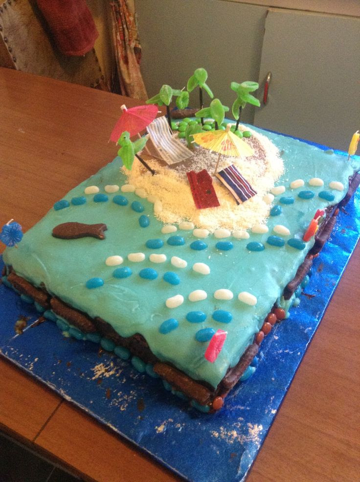 Theme Party Hawaii 5 0 My Birthday Ideas Pinterest Cake