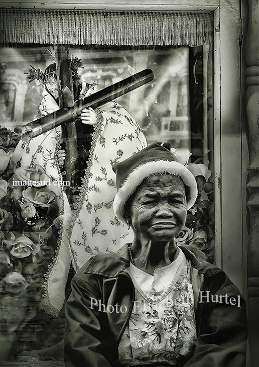 Noël Avec Jésus Photo Noir Et Blanc Photographie Dart En