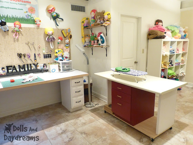 Sewing Room Make Over DIY Dolls And Daydreams 3A