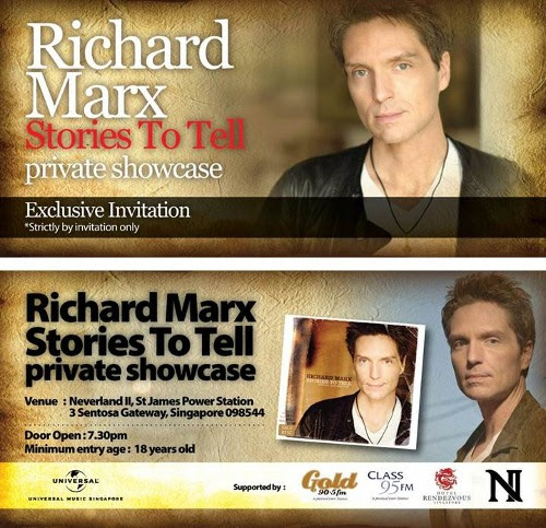 Richard Marx Live At Hard Rock Cafe In Singapore