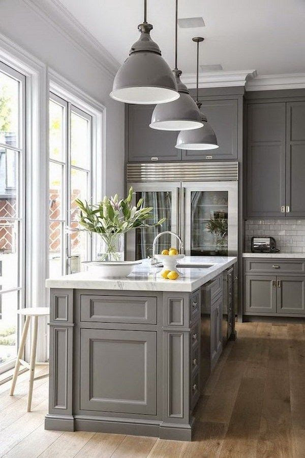 20 Stunning Kitchen Cabinet Colors Designs