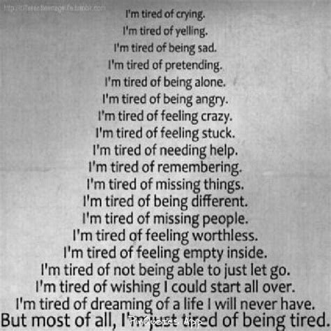 Tired Of Being Blown Off Quotes