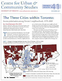 The Three Cities within Toronto