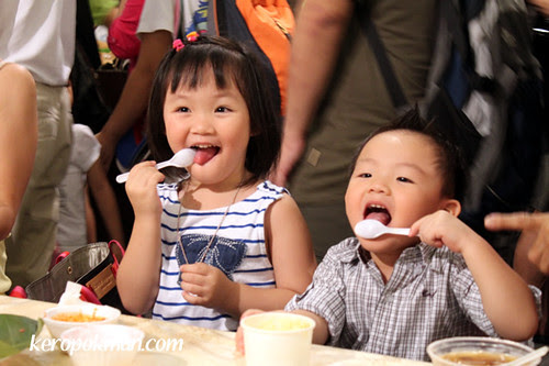 Kids enjoy the Food Festival too