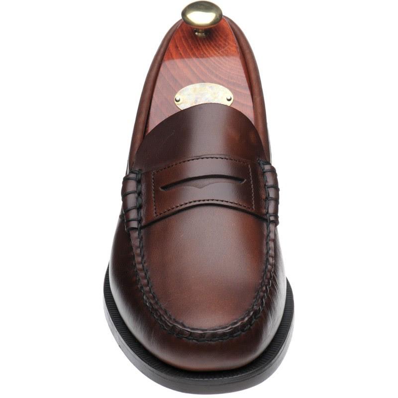 Sebago shoes | Sebago | Classic loafer in Brown Waxy at ...