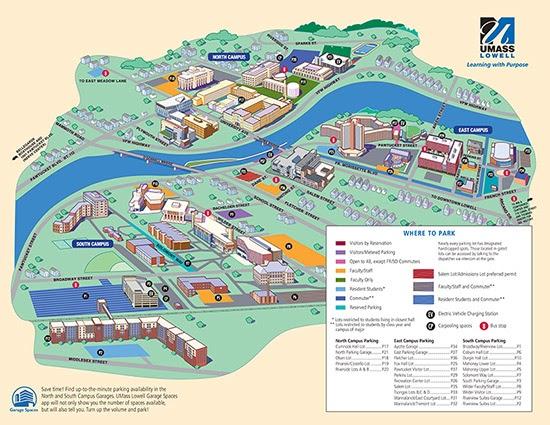 Umass Lowell Campus Map Umass Lowell Campus Map | Gadgets 2018
