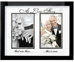 A Love Storybrthen And Now Duo Frame By Prinz Picture Frames
