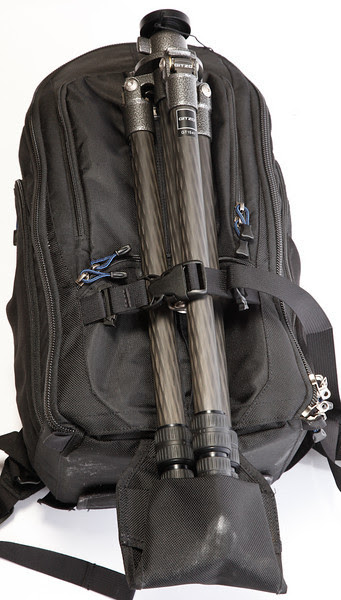 Gitzo GT1541 on Think Tank Photo Streetwalker Pro Backpack