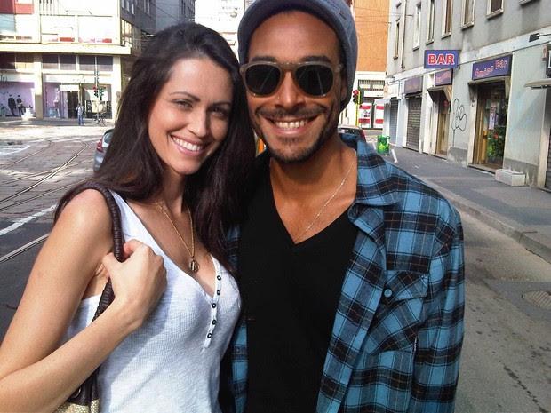 Daniel BBB 12 e a namorada Monica Silva (Foto: Divulgação)