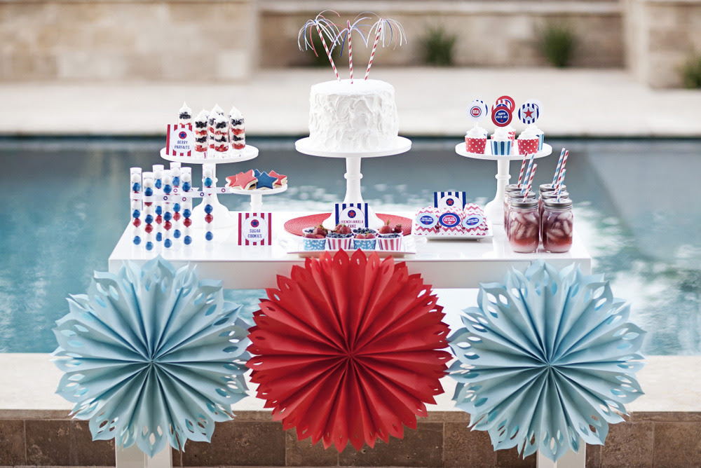 4th Of July Party Supplies The Tomkat Studio Blog