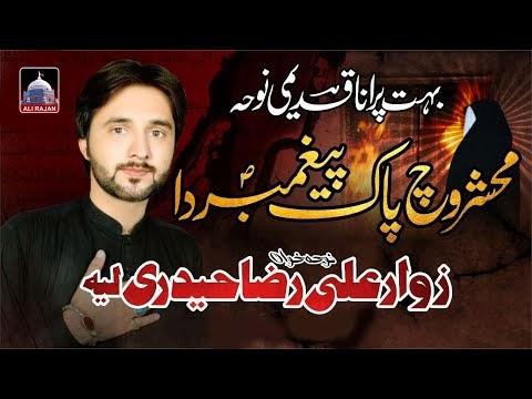 Mahshar Wich Pak Peghambar Da | Ali Raza Haidri | New Noha Ayam e Fatmiy...