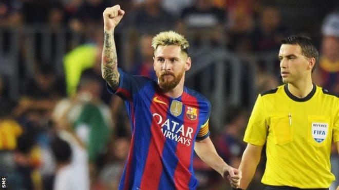 Celtic hawakuweza kumdhibiti Messi