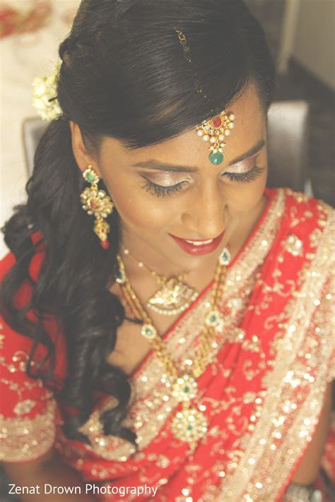 Getting Ready in Vienna, VA Sri Lankan Fusion Wedding by