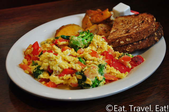 Boudin SF- Irvine, CA: Vegetable Scramble