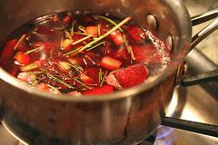 borscht cooking