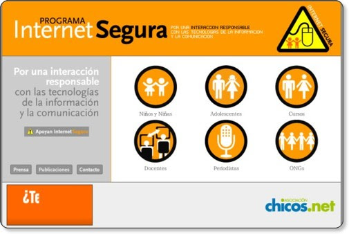http://www.chicos.net/internetsegura/index.html