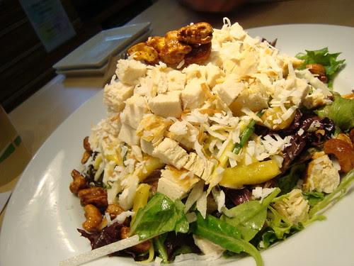 Lemongrass Chicken Salad