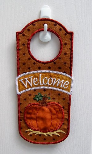 Autumn/Thanksgiving Door Hanger
