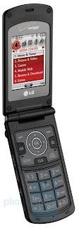 LG Chocolate 3 on Verizon Wireless