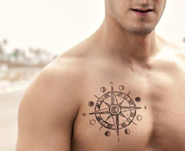 Tatuaje Puntos Cardinales Pecho Blog De Tatuajes Hombre