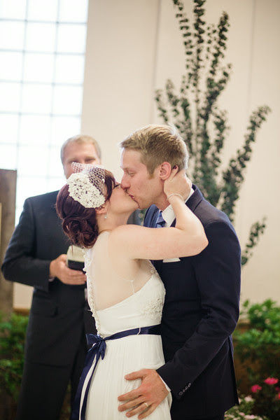 A wedding ceremony at the Verdi Club in June by Mindy Joy Photography