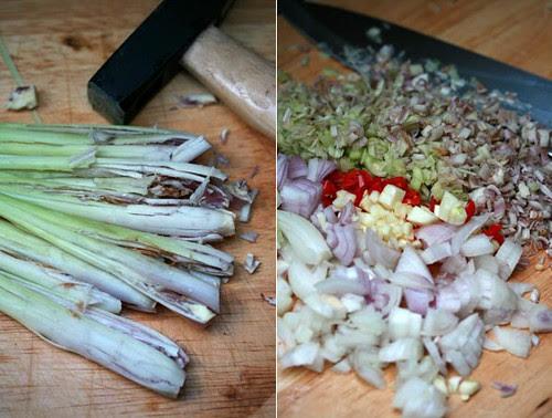 Preparazione lemongrass