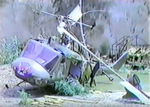 Vic Morrow, along with two child actors, were killed on the set of Twilight Zone: The Movie when a helicopter fell on them after a disastrous stunt had gone wrong. Morrow and one of the child actors were decapitated, while the other child was crushed to death.
