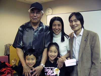 Dr. Len, Yumi and family のJPG