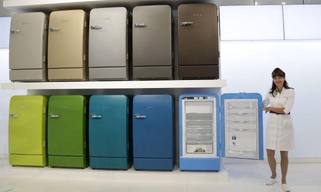 Husky Retro Kühlschrank : Kühlschrank rot retro bosch richard