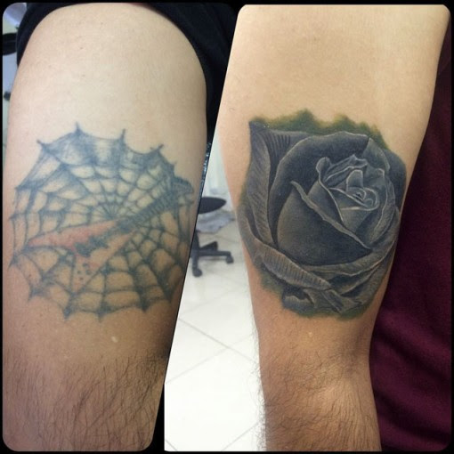 Dark Rose Tattoo Cover Up Best Tattoo Ideas Gallery