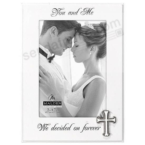 You And Me We Decided On Forever Frame By Malden Picture Frames