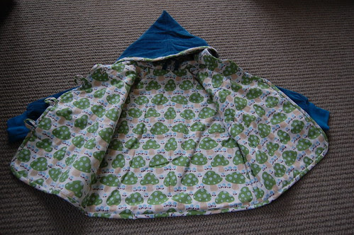 Blue Sparrow Coat Lining