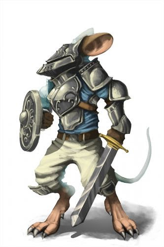 Knight Mouse Kings Gauntlet Tier 3 Sandra Donoso