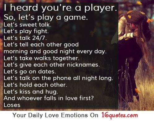Quotes About Relationship Players 36 Quotes