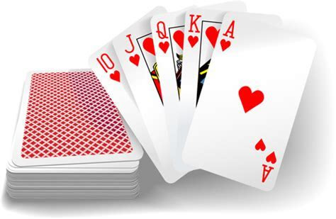 Royal straight flush playing cards vector 05 free download