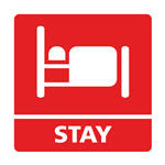 Earn points when staying with hotel partners